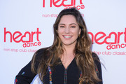 Kelly Brook attends the Heart Dance Media launch event at Global Radio Studios on July 03, 2019 in London, England.