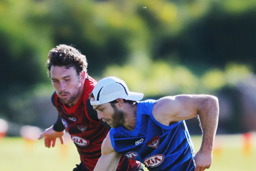 Heath Hocking Essendon Bombers Training Session