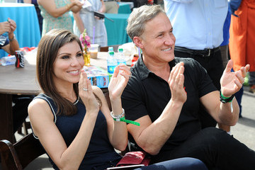 Heather Dubrow Elizabeth Glaser Pediatric AIDS Foundation 26th Annual A Time for Heroes Family Festival - Inside