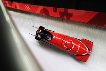 Heather Moyse Bobsleigh - Winter Olympics Day 11