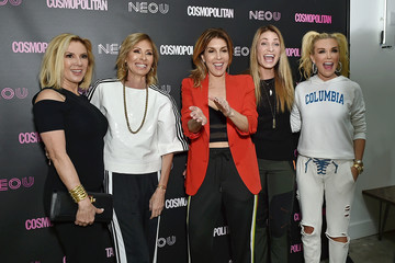 Heather Thomson Cosmopolitan and Carole Radziwill Co-Host Opening of NEO U Fitness