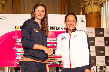 Heather Watson Romania v Great Britain - Fed Cup: World Group II Play Off: Previews