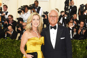 Deborah Norville and Karl Wellner attend the Heavenly Bodies: Fashion & The Catholic Imagination Costume Institute Gala at The Metropolitan Museum of Art on May 7, 2018 in New York City.