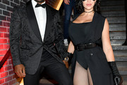Reggie Bush (L) and Lilit Avagyan attend Heidi Klum's 20th Annual Halloween Party presented by Amazon Prime Video and SVEDKA Vodka at Cathédrale New York on October 31, 2019 in New York City.
