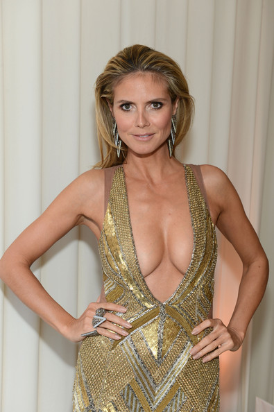 Heidi Klum - 21st Annual Elton John AIDS Foundation Academy Awards Viewing Party - Inside