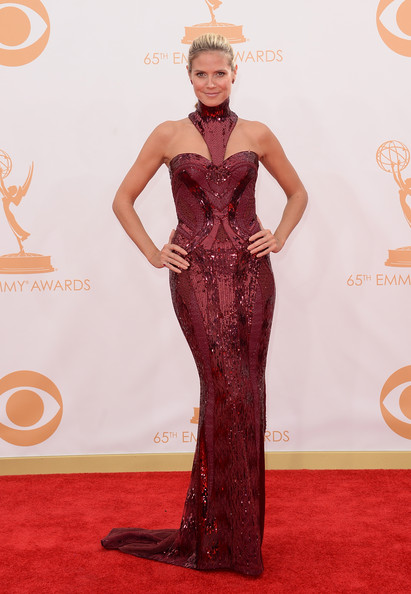 Heidi Klum - Arrivals at the 65th Annual Primetime Emmy Awards — Part 5