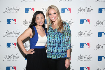 Heidi Watney Alex Woo and the MLB Launch New Jewelry Line