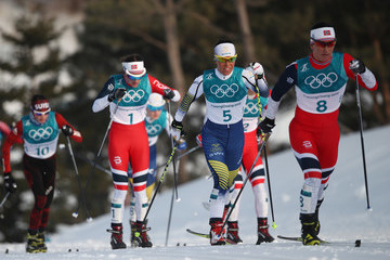 Heidi Weng Cross-Country Skiing - Winter Olympics Day 1
