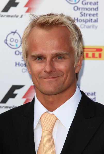 Heikki Kovalainen Heikki Kovalainen arrives for the F1 party at the Natural History Museum on July 6, 2011 in London, England.