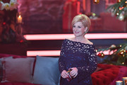 Carmen Nebel smiles during the tv show 'Heiligabend mit Carmen Nebel' on November 29, 2017 in Munich, Germany. The show will be aired on December 24, 2017.