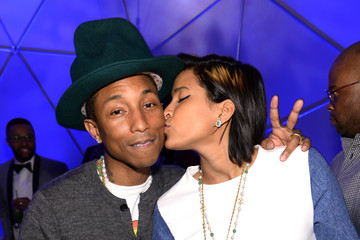 Helen Lasichanh Pharrell Williams Celebrates 41st Birthday With SpongeBob SquarePants Themed Party - Inside