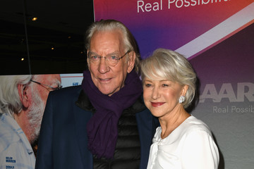 Helen Mirren Donald Sutherland Premiere of Sony Pictures Classics' 'The Leisure Seeker' - Red Carpet