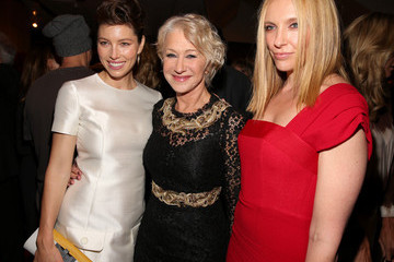 """Helen Mirren Jessica Biel Premiere Of Fox Searchlight Pictures' """"Hitchcock"""" - After Party"""