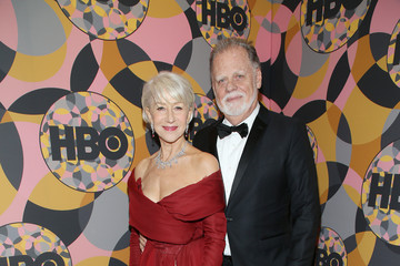 Helen Mirren Taylor Hackford HBO's Official Golden Globes After Party - Red Carpet