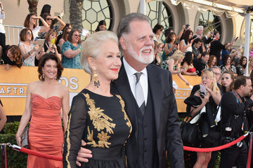 Helen Mirren Taylor Hackford 20th Annual Screen Actors Guild Awards - Red Carpet