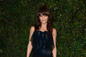 Helena Christensen Chanel And Charles Finch Pre-Oscar Dinner
