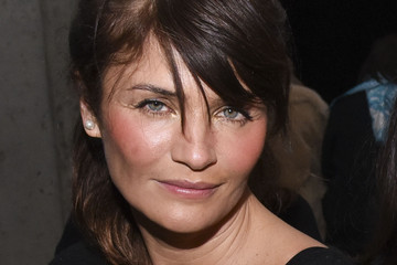 Helena Christensen Edun - Backstage - Mercedes-Benz Fashion Week Fall 2015