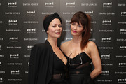 Helena Christensen and Camilla Staerk pose during a Q & A at David Jones Elizabeth Street Store on March 10, 2018 in Sydney, Australia.