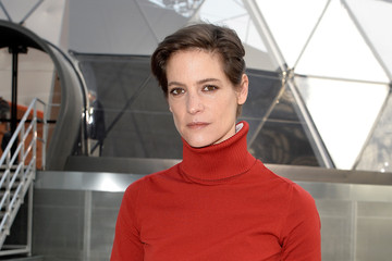 Helene Fillieres Arrivals at Louis Vuitton