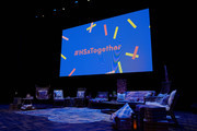 Sponsor activations at the Hello Sunshine x Together Live presentation at The Pantages Theater on November 13, 2018 in Minneapolis, Minnesota.