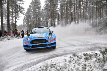 Henning Solberg FIA World Rally Championship Sweden - Day Two
