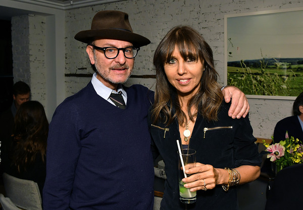 NY Premiere Of HBO's 'The Case Against Adnan Syed' At Pure Nonfiction [fashion,event,eyewear,fashion accessory,hat,photography,vision care,fedora,glasses,style,henrietta conrad,fisher stevens,the case against adnan syed,pure non fiction,ny,loring place,hbo,premiere,premiere,party]