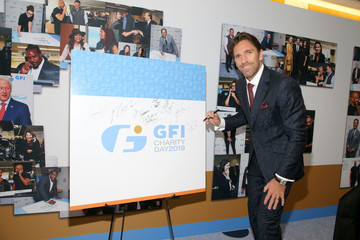 Henrik Lundqvist Annual Charity Day Hosted By Cantor Fitzgerald, BGC, And GFI - GFI Office - Arrivals