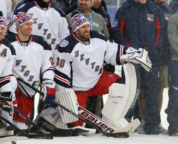 Henrik Lundqvist Photos Photos 2014 Nhl Stadium Series New York