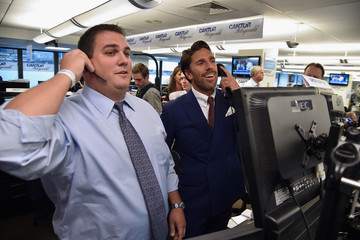 Henrik Lundqvist Annual Charity Day Hosted By Cantor Fitzgerald, BGC and GFI - Cantor Fitzgerald Office - Inside