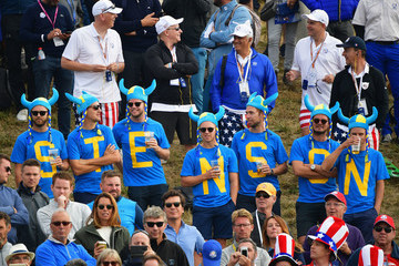 Henrik Stenson 2018 Ryder Cup - Morning Fourball Matches