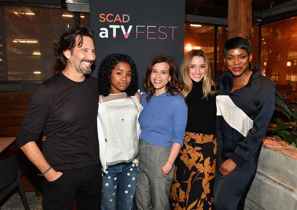SCAD aTVfest 2019 x Entertainment Weekly Party - Lure [event,fun,premiere,smile,party,liz heldens,brianna howey,henry ian cusick,saniyya sidney,caroline chikezie,party - lure,l-r,entertainment weekly,scad atvfest,party]