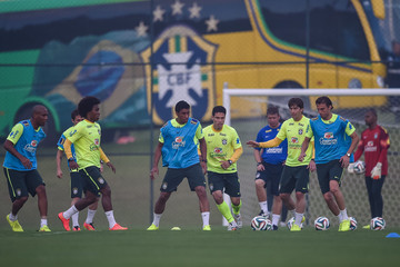 Hernane Brazil Training Session