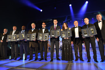 Hidetoshi Nakata Antonin Panenka Golden Foot Awards Ceremony