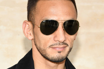 Hidetoshi Nakata Louis Vuitton : Front Row  - Paris Fashion Week - Menswear Spring/Summer 2018