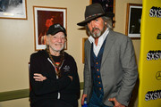 "Willie Nelson and John Fusco attend ""The Highway Man"" Premiere 2019 SXSW Conference and Festivals at Paramount Theatre on March 10, 2019 in Austin, Texas."