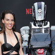 Hilary Swank LA Special Screening Of Netflix's 'I Am Mother' - Red Carpet
