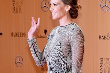 Hilary Swank BABOR at Bambi Awards 2015 - Red Carpet Arrivals