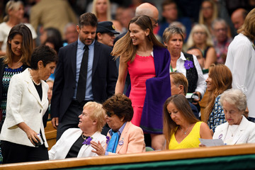 Hilary Swank Day Twelve: The Championships - Wimbledon 2017
