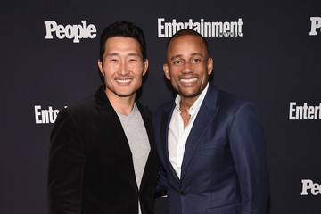 Hill Harper Entertainment Weekly and PEOPLE Upfronts Party at Second Floor in NYC Presented By Netflix and Terra Chips - Arrivals