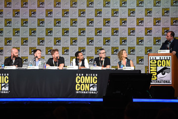 """Hill Harper Jake McDorman Comic-Con International 2015 - 'Extant,' """"Limitless,' 'Scorpion,' 'Under The Dome' and 'Zoo'"""