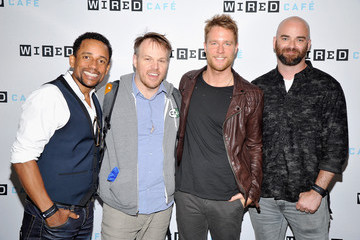 Hill Harper Jake McDorman WIRED Cafe At Comic Con 2015 In San Diego