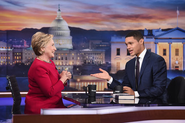 Hillary Clinton 'The Daily Show With Trevor Noah' Welcomes Guest Hillary Clinton