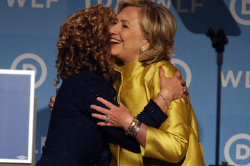 Hillary Clinton Debbie Wasserman Schultz Pictures, Photos & Images ...