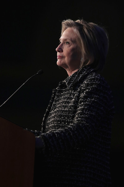 Hillary Clinton Speaks At Ida's Legacy Fundraiser Luncheon In Chicago