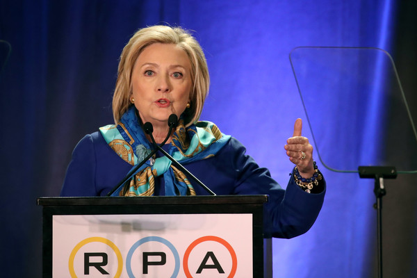 Hillary Clinton Speaks At The Regional Plan Association Assembly