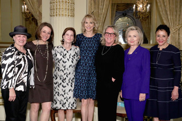 Hillary Clinton The 8th Annual Elly Awards Hosted By The Women's Forum Of New York - Inside
