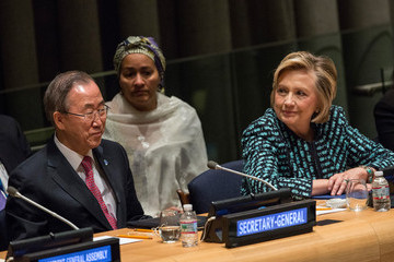 Hillary Clinton UN International Women's Day Event