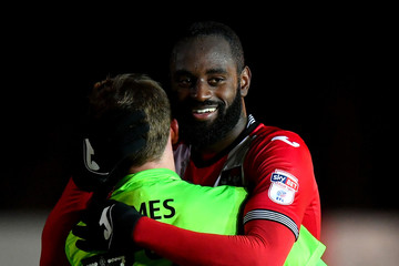 Hiram Boateng Exeter City v Forest Green - The Emirates FA Cup Second Round Replay