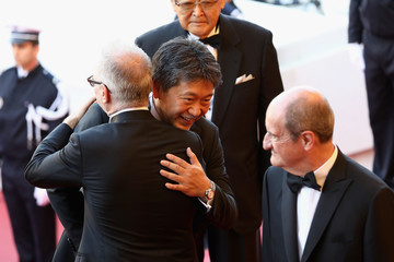 Hirokazu Koreeda Closing Ceremony And 'The Man Who Killed Don Quixote' Red Carpet Arrivals - The 71st Annual Cannes Film Festival