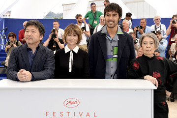 Hiroshi Abe 'After The Storm' Photocall - The 69th Annual Cannes Film Festival
